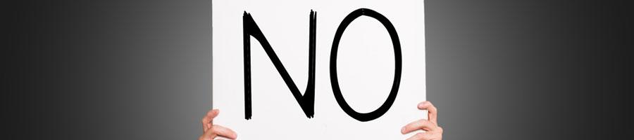 Selbstbewusster werden durch Nein sagen