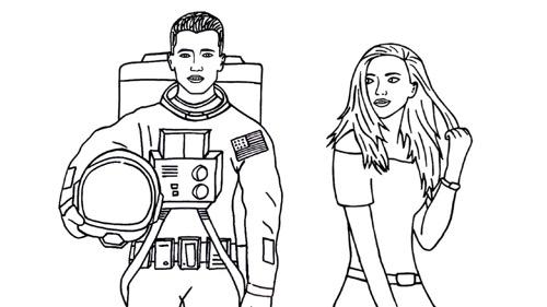 Interessanter werden, als ein Astronaut (3 Schritte)