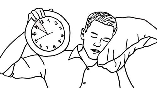 Mach das 5 Minuten vor dem Schlafengehen