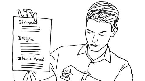 Die 1-Minuten-To-Do-Liste: Aufgaben perfekt organisieren